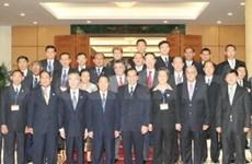Le leader du PCV reçoit 4 délégations étrangères