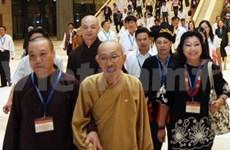 Le VIIe congrès du Front de la Patrie du Vietnam