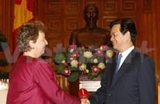 Le PM reçoit l'ambassadrice de Nouvelle-Zélande