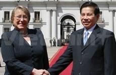Vietnam et Chili approfondissent leur coopération multiforme