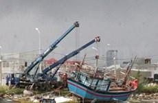 Soutien international aux sinistrés du typhon Ketsana