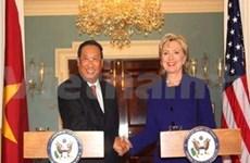 Pham Gia Khiem en mission aux Etats-Unis