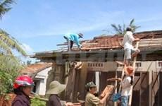 Aide d'ONG aux sinistrés