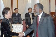 Le ministre d'Etat soudanais des AE au Vietnam