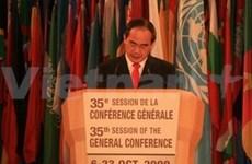Vietnam participera activement aux programmes de l'UNESCO