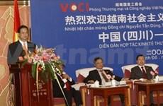 Le Vietnam favorise les investisseurs du Sichuan