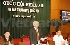 25è réunion du Comité permanent de l'AN