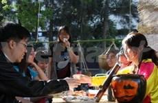 Une soirée des étudiants vietnamiens à Sidney