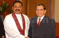Le président srilankais reçu par les leaders vietnamiens