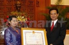 La vice-PM cambodgienne reçue par des dirigeants vietnamiens