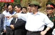 Nguyên Tân Dung en tournée à Lai Châu