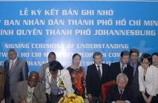 HCM-V et Johannesburg tissent le partenariat