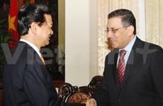 Le PM reçoit l'ambassadeur d'Arabie saoudite
