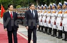 Entretien entre les PM vietnamien et français