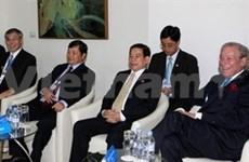 Apec 17: Nguyen Minh Triet à une réunion à huis-clos