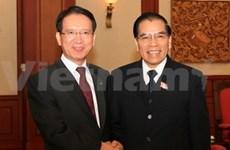 Le président de l'AN sud-coréenne reçu par des dirigeants