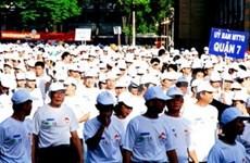Ho Chi Minh-Ville: une marche pour les démunis