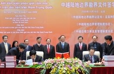 Frontière: VN et Chine ont terminé leur mission historique