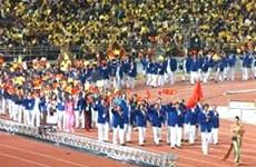 La délégation sportive vietnamienne part pour Vientiane