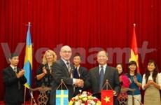 """Vietnam et Suède poursuivent le projet ''Partage"""""""