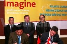Vietnam-Canada : la coopération soutenue dans le commerce