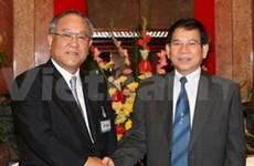 Le président encourage les investissements japonais au Vietnam