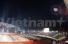 Ouverture des 25es SEA Games