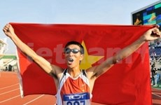 Le Vietnam finit second des 25es SEA Games