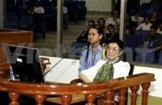 Cambodge: une ministre Khmers rouge inculpée de génocide