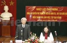 Cao Bang appelée à développer les infrastructures