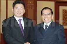 Le leader du PRP de Mongolie en visite au Vietnam