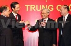 Hanoi: l'ambassadeur de Chine donne une réception