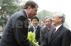 Le président de l'AN slovaque au Vietnam