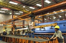Forte hausse de la production industrielle en janvier