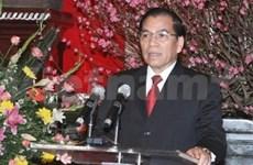 Tet: le Secrétaire général du Parti présente ses voeux