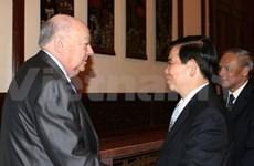 Le président reçoit un maire adjoint de Moscou