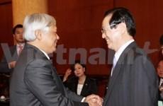 Visite d'une délégation parlementaire de R. de Corée au Vietnam