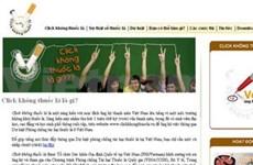 Une page web contre le tabagisme voit le jour