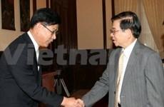 Tapis rouge aux entreprises sud-coréennes