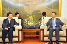 Un vice-ministre vietnamien des AE en Chine