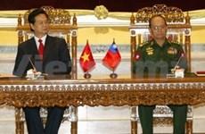 Vietnam et Myanmar renforcent leur coopération tous azimuts