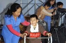 SAP-VN poursuit ses aides aux enfants handicapés de Ninh Binh