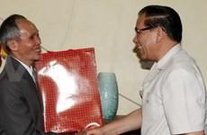 Nong Duc Manh en tournée de travail à Hai Phong