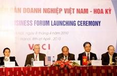 Création du Forum d'affaires Vietnam-Etats-Unis