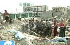 Chine : au moins 400 morts dans un séisme