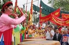 Fête du temple Dô en l'honneur du millénaire de Hanoi