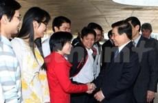 Le président vietnamien s'est envolé pour la Finlande