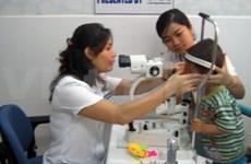 Aide canadienne pour des soins ophtalmologiques au Centre