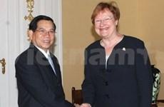 Le président vietnamien en visite officielle en Finlande