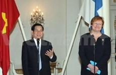 Succès de la tournée en Europe de Nguyen Minh Triet